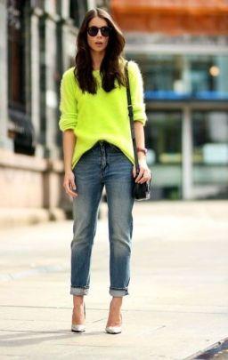 tavaszi neon outfit