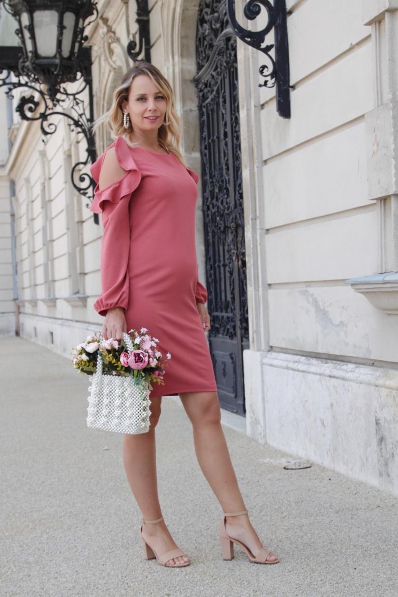 pinkblush elegáns kismama ruha