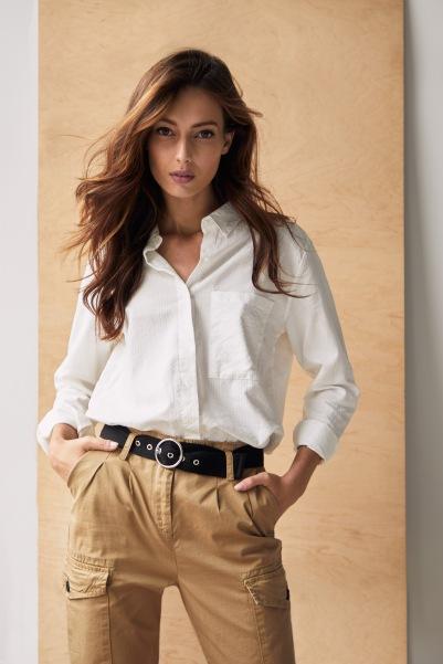 őszi divat zsebes nadrág