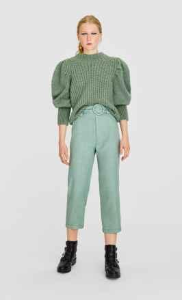 zöld téli nadrág pulcsi