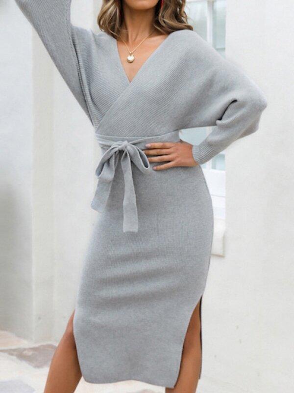 2020 kötött ruha divat