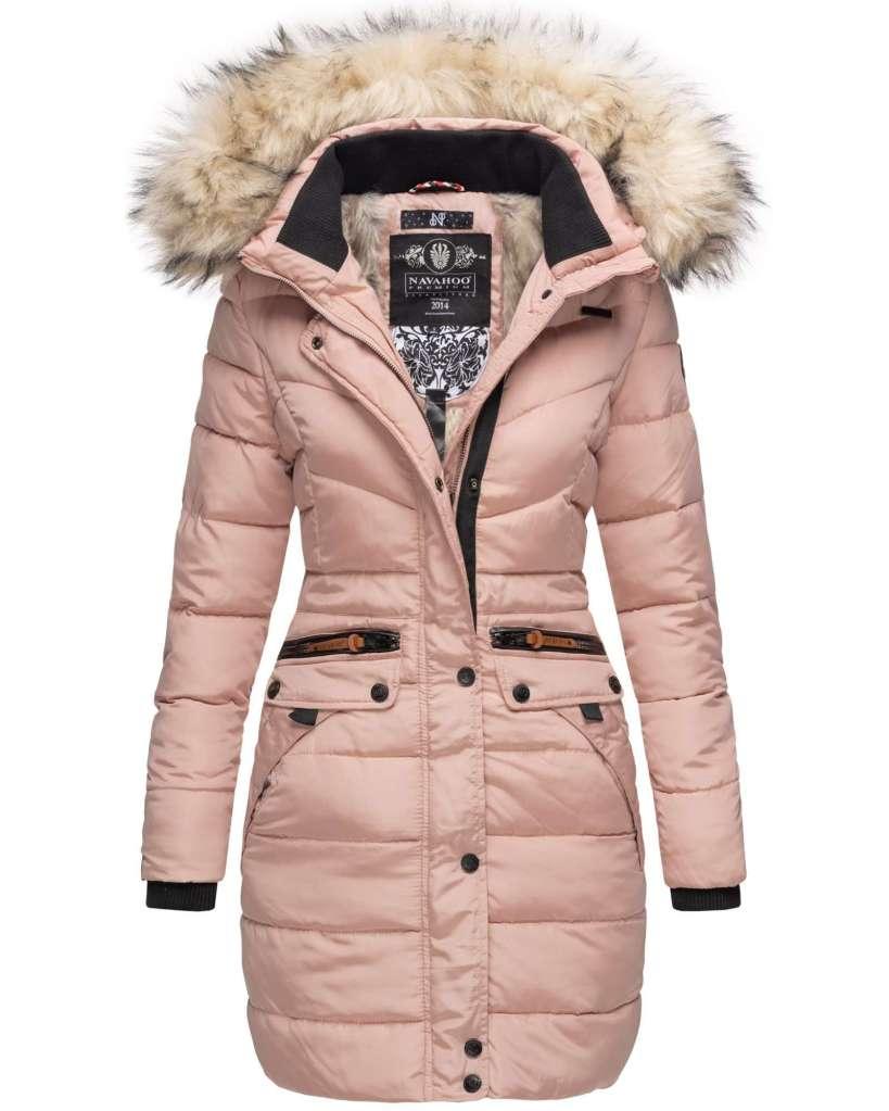 szőrme gallérú hosszú kabát