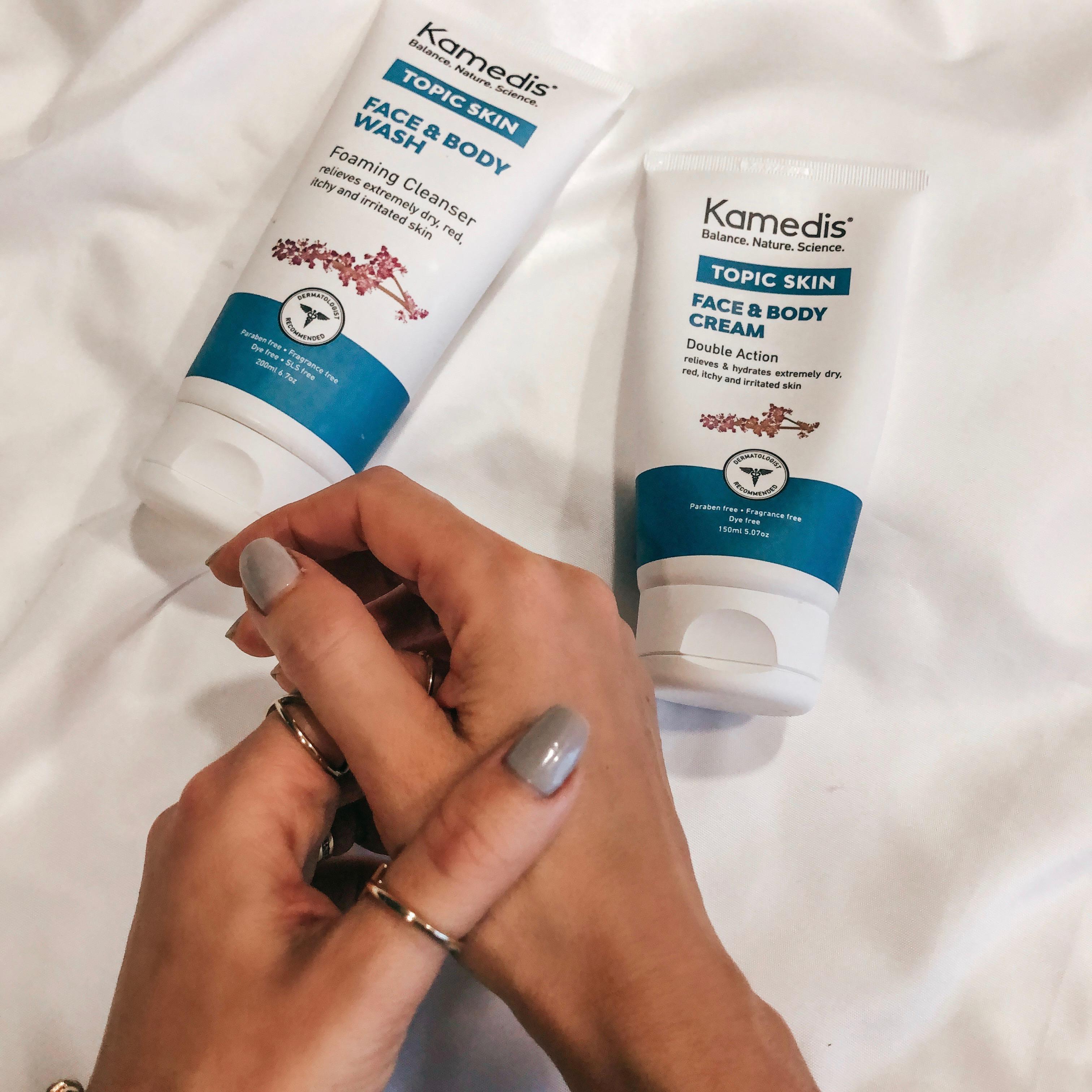 kamedis topic skin krém extra száraz bőrre