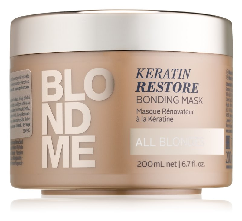 blondme keratinos maszk notino