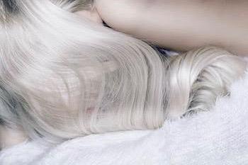 szőke haj ápolás
