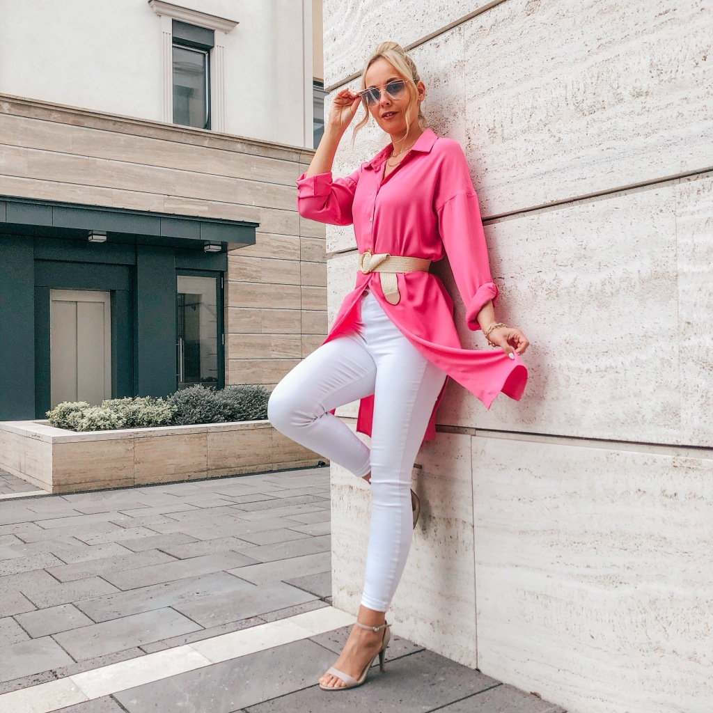 hosszú női ing csajos tavaszi outfit