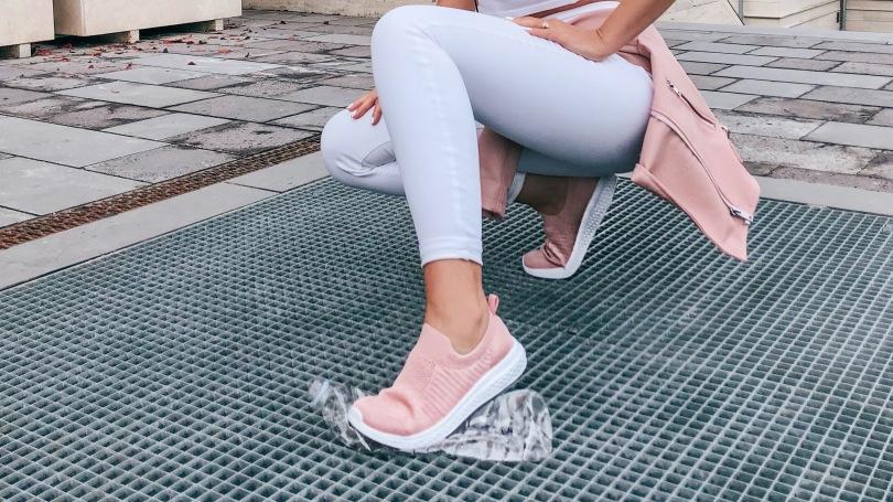 rózsaszín cipő Lidl