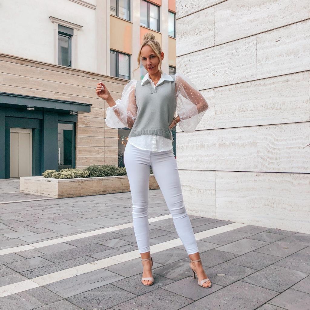 puffos ujjú női ing 2021 tavaszi divat
