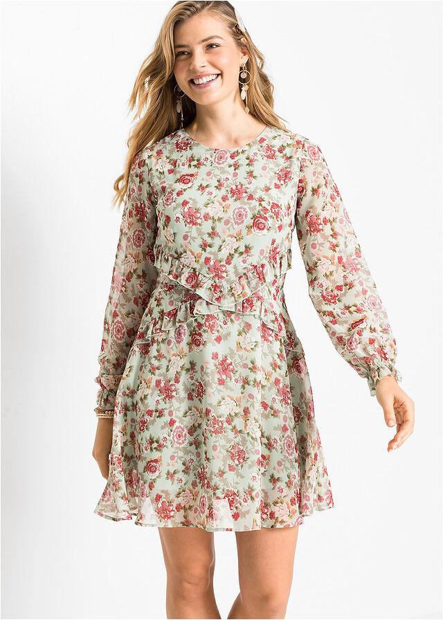bonprix virágmintás tavaszi női ruha